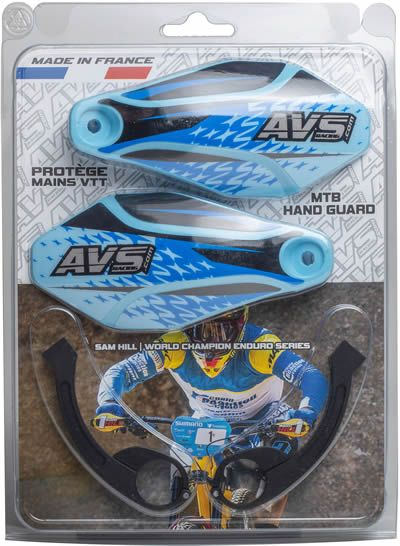 Kit complet - Pattes aluminium - Bleu clair