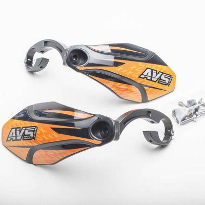 Kit complet - Pattes aluminium - Noir/Orange