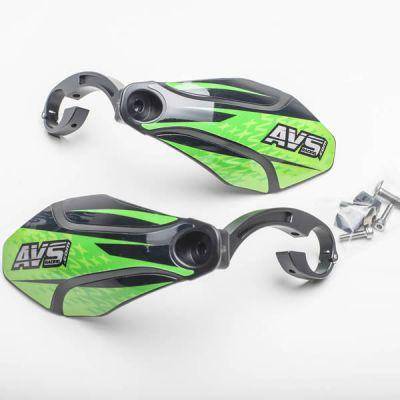 Kit complet - Pattes aluminium - Noir/Vert