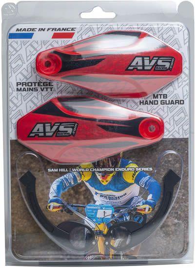 Kit complet - Pattes aluminium - Rouge