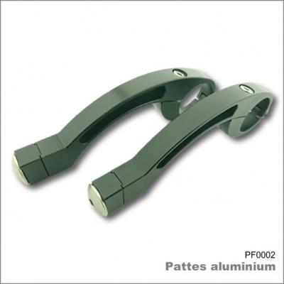 Pattes de Fixation Aluminium