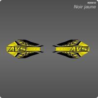 Kit Déco Géometrique Noir jaune
