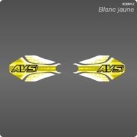 Kit Déco Géometrique Blanc jaune