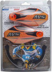 Kit complet - Pattes aluminium - Orange