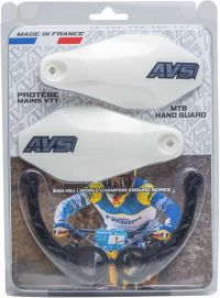 Handguards Kit white - Plastic supports