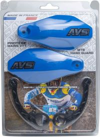 Handguards Kit blue - Plastic supports