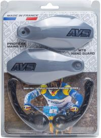 Handguards Kit gray - Plastic supports