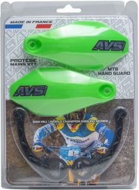 Handguards Kit green - Plastic supports