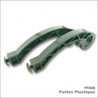 Pattes de fixation Plastique