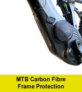 MTB Carbon Fibre Frame Protection